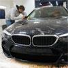Антигравийная защита BMW 5 с пленкой SunTek